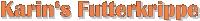 Karins Futterkrippe Logo